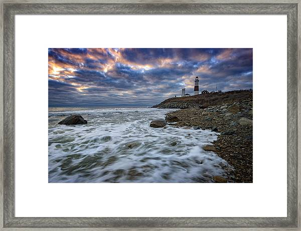 Montauk Morning Framed Print