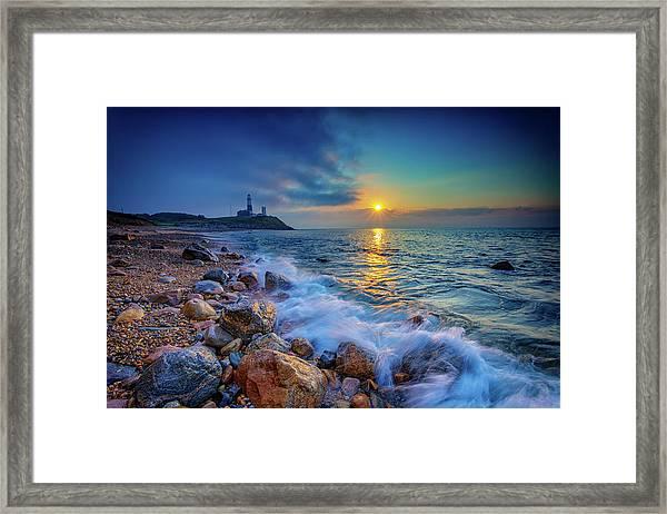 Montauk Sunrise Framed Print