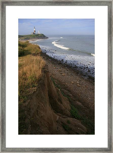 Montauk Surf And Turf Framed Print