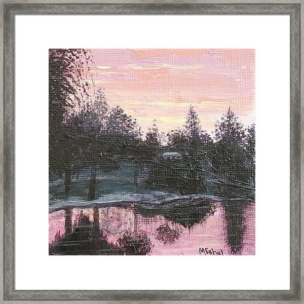 Montgomery Pond Framed Print