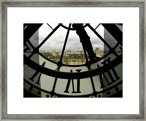 Montmartre From Musee D'orsay Framed Print