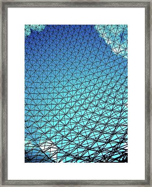 Montreal Biosphere Framed Print