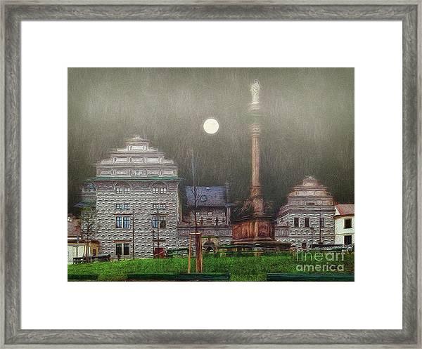 Monumental- Prague Framed Print