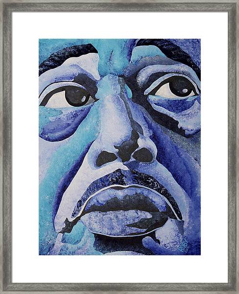 Mood Indigo Framed Print