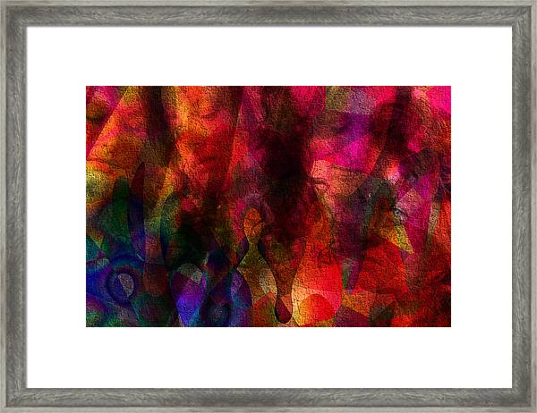 Moods In Abstract Framed Print