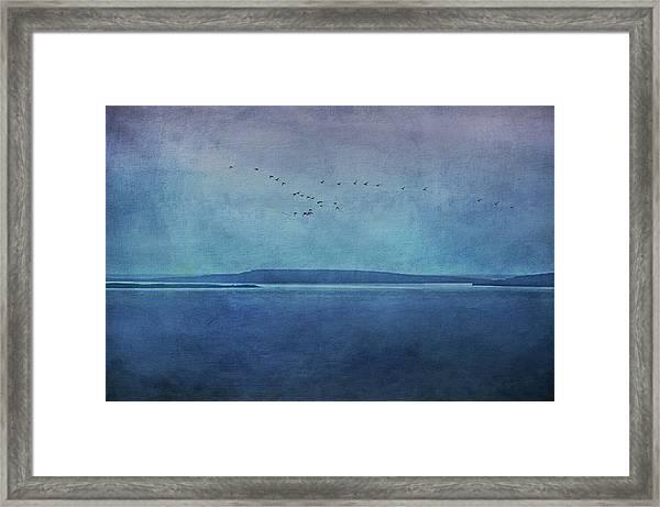 Moody  Blues - A Landscape Framed Print