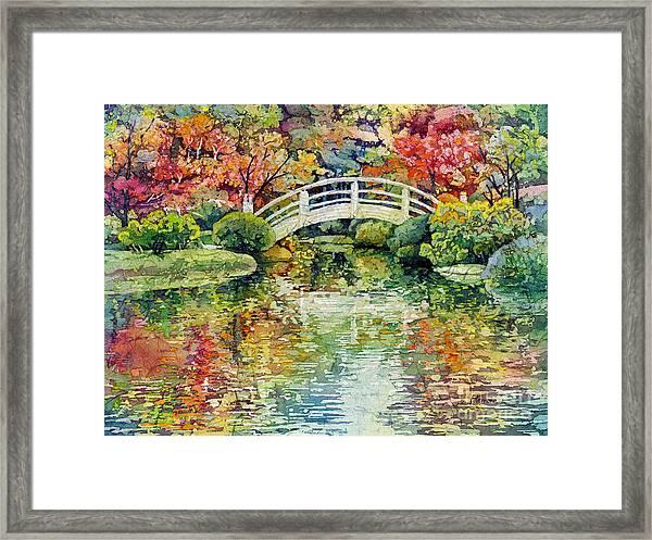 Moon Bridge Framed Print