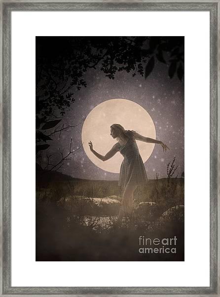 Moon Dance 001 Framed Print