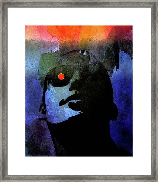 Moonglasses Framed Print