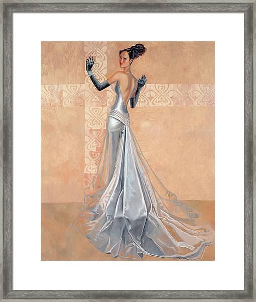 Moonlight Daiquiri Framed Print by Barbara Tyler Ahlfield