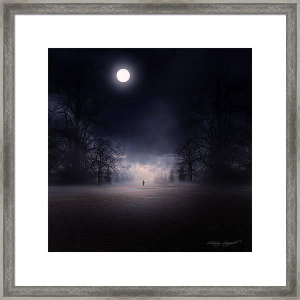 Moonlight Journey Framed Print