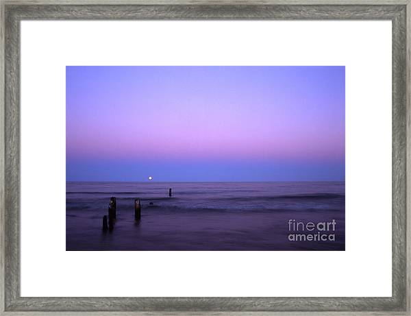 Moonrise Framed Print