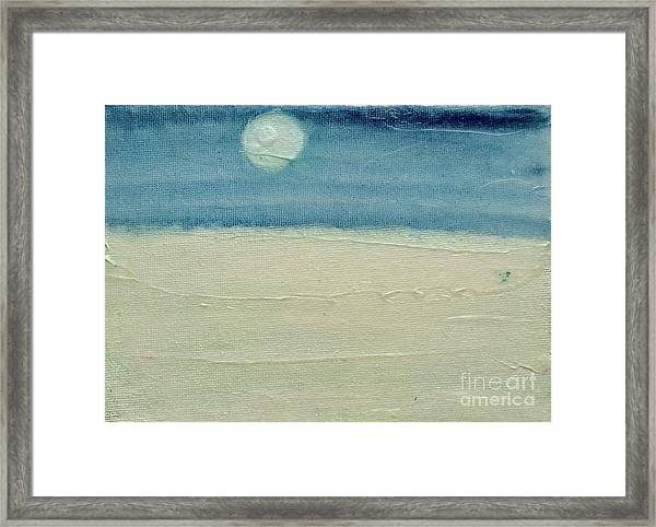 Moonshadow Framed Print