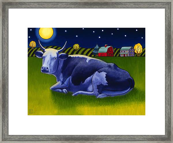 Mooonlight Framed Print by Stacey Neumiller