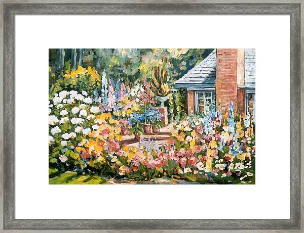 Moore's Garden Framed Print