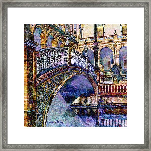 Moorish Bridge Framed Print
