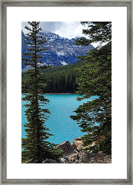 Moraine Lake 3 Framed Print