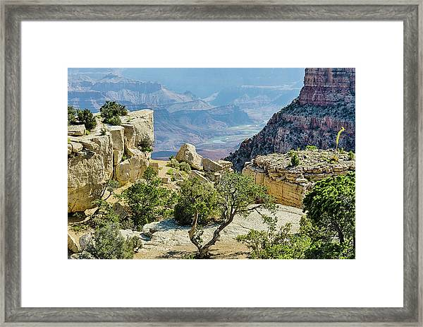 Moran Point View Framed Print