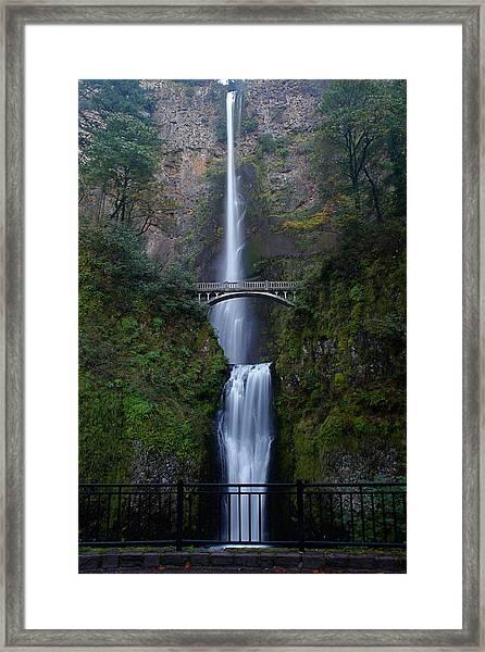 More Multnomah Falls Framed Print