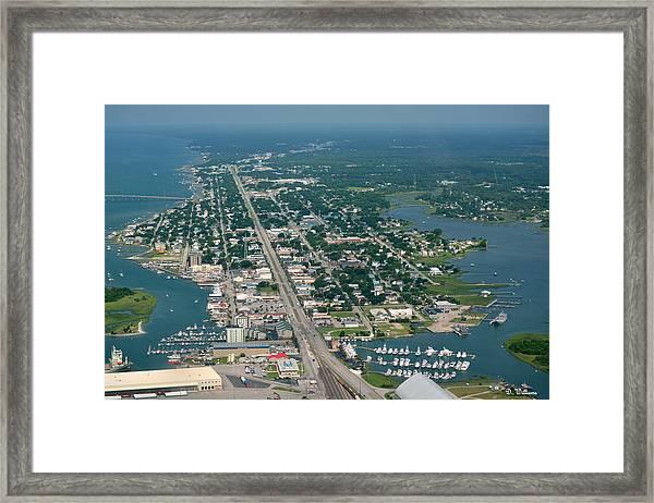 Morehead City Framed Print