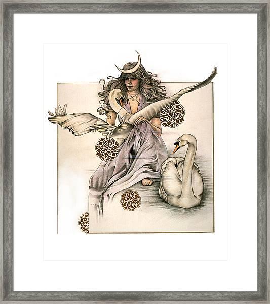 Morgaine Framed Print