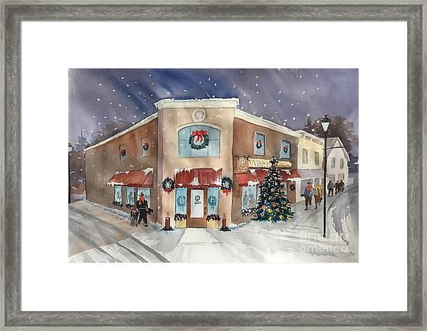 Morkes Christmas 2017 Framed Print