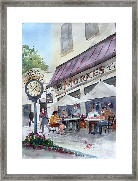 Morkes Spring Framed Print