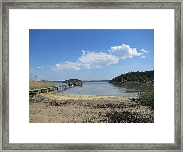 Aspvik On Morko Island Framed Print