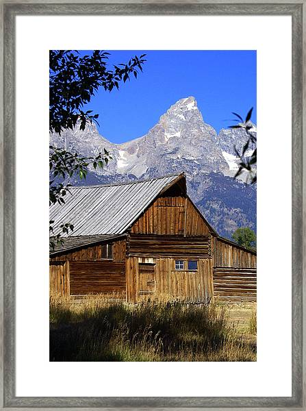 Mormon Row Barn  1 Framed Print