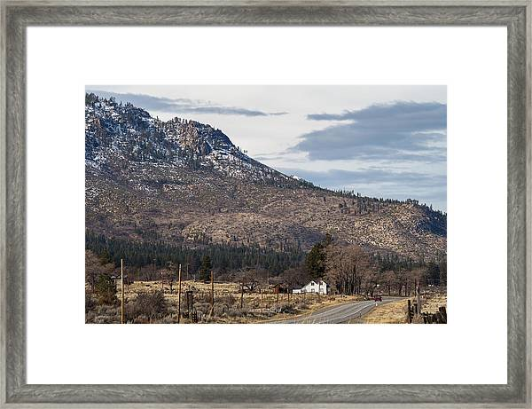 Morning At The Doyle Ranch Framed Print