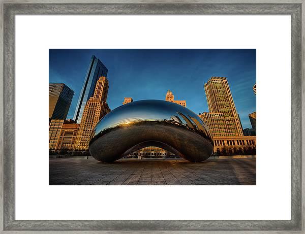 Morning Bean Framed Print
