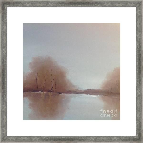 Morning Chill Framed Print