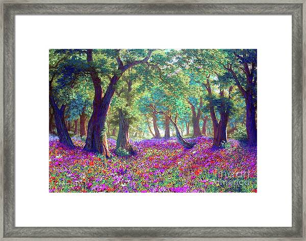 Morning Dew Framed Print