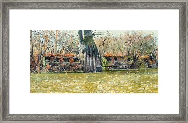 Morning Flight At Little Basin Framed Print