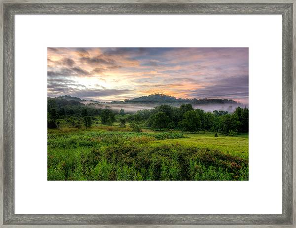 Morning Fog Framed Print