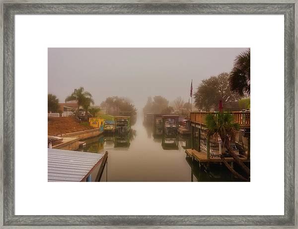 Morning Fog  Framed Print