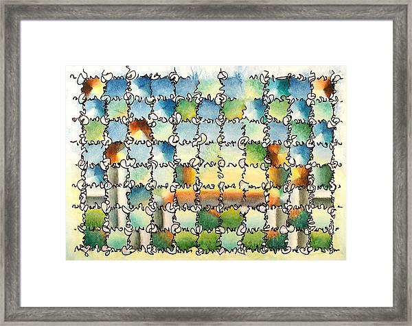 Morning Gateway Framed Print