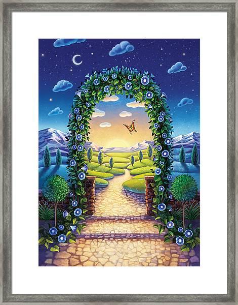 Morning Glory - Awaken To Magic Framed Print