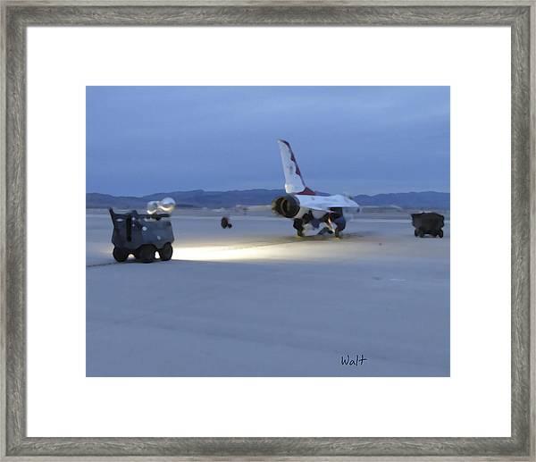 Morning Go Framed Print
