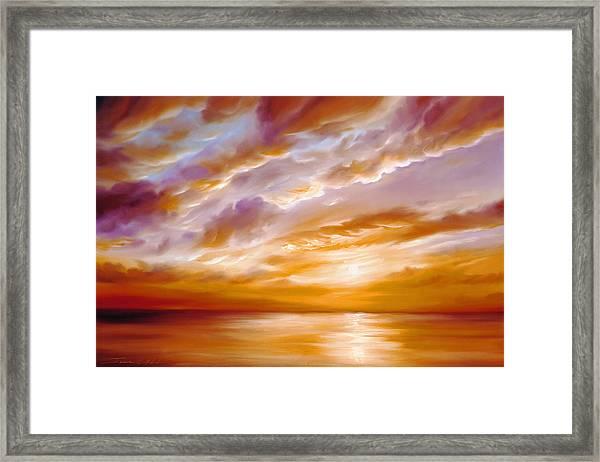 Morning Grace Framed Print