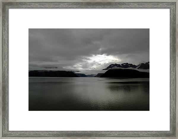 Morning In Alaska Framed Print