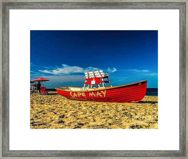 Morning In Cape May Framed Print