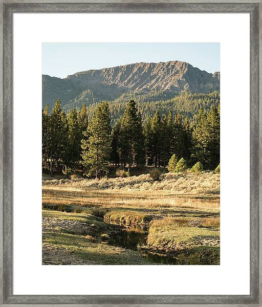 Morning In Janesville Framed Print by The Couso Collection