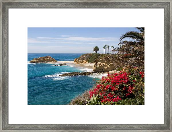 Morning Light Montage Resort Laguna Beach Framed Print