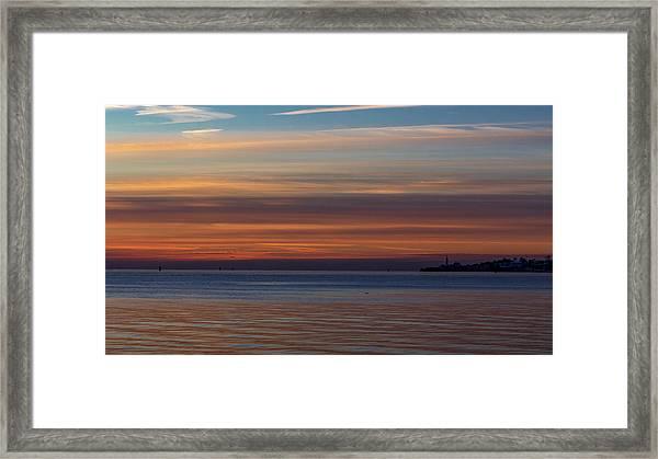 Morning Pastels Framed Print