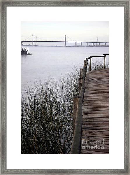 Morning Pier 2 Framed Print