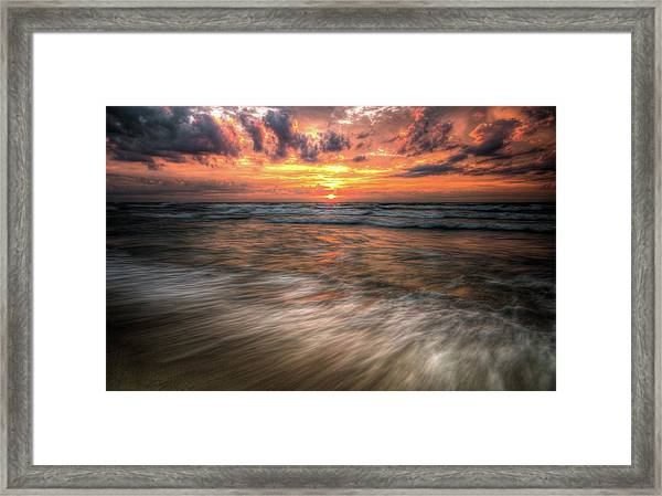 Morning Rush Framed Print
