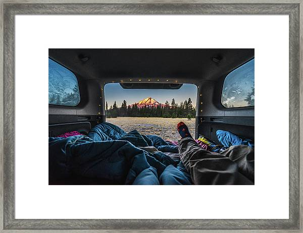 Morning Views Framed Print