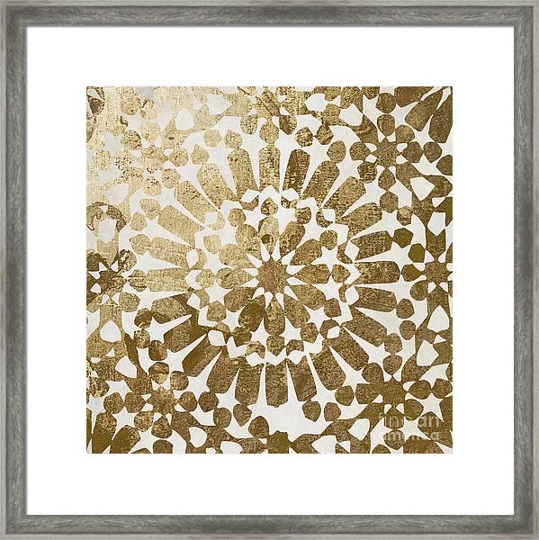 Moroccan Gold II Framed Print
