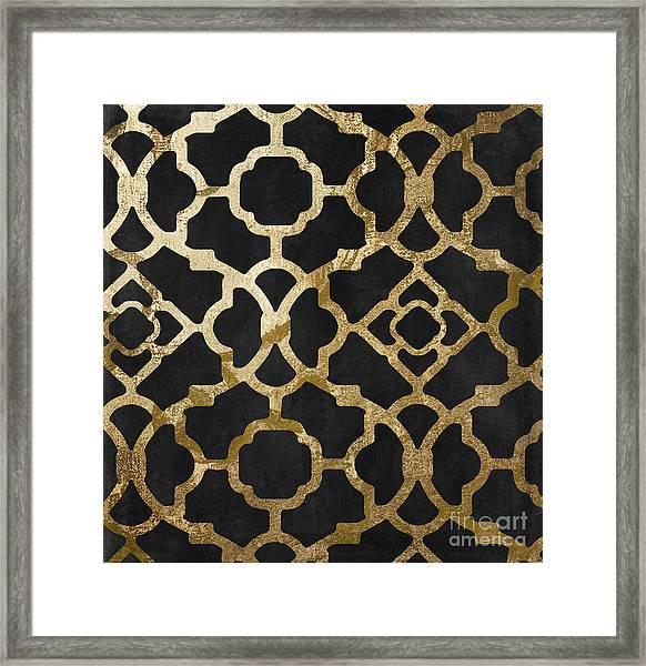 Moroccan Gold IIi Framed Print